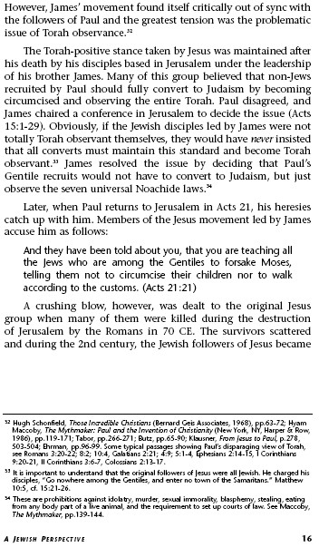 Jews for Judaism Da Vinci-16 352x603