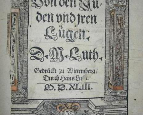 Luther The Anti-Semite